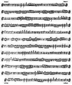 普通に見た楽譜