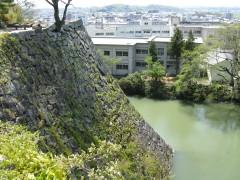 伊賀上野城址(石垣)
