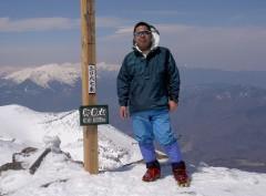 御嶽山の山頂