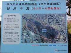 谷津干潟案内図