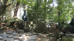 芭蕉の歌碑