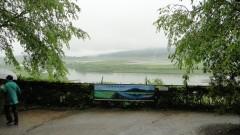 高館から北上川の眺め