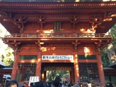 初詣客で込み合う鹿島神宮