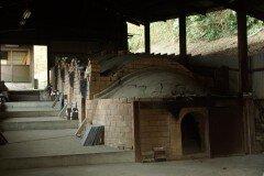 唐津焼工房の登り窯
